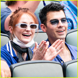 Sophie Turner & Joe Jonas Have a Blast at Baseball Game in Atlanta!