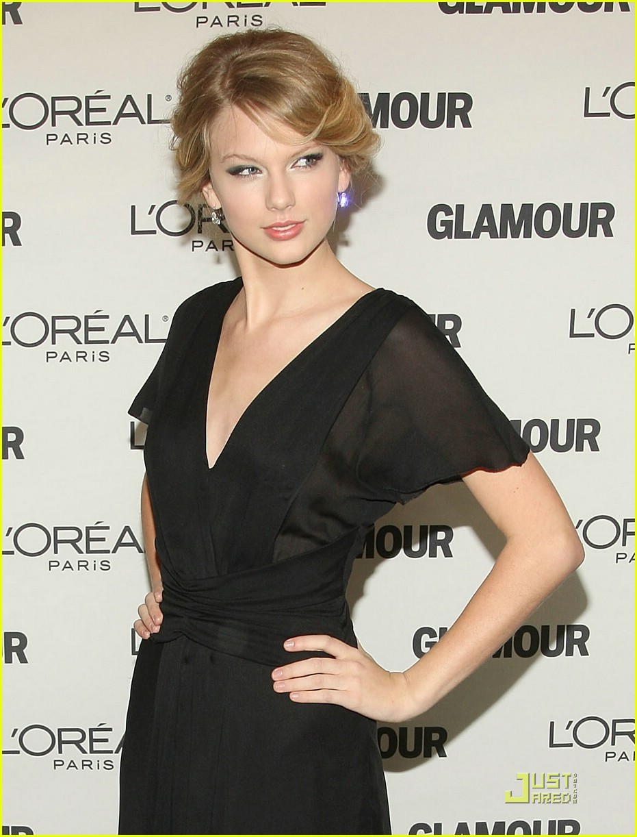 taylor swift glamour awards 2008 08