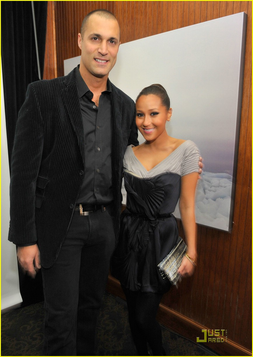 adrienne bailon seal dinner 05