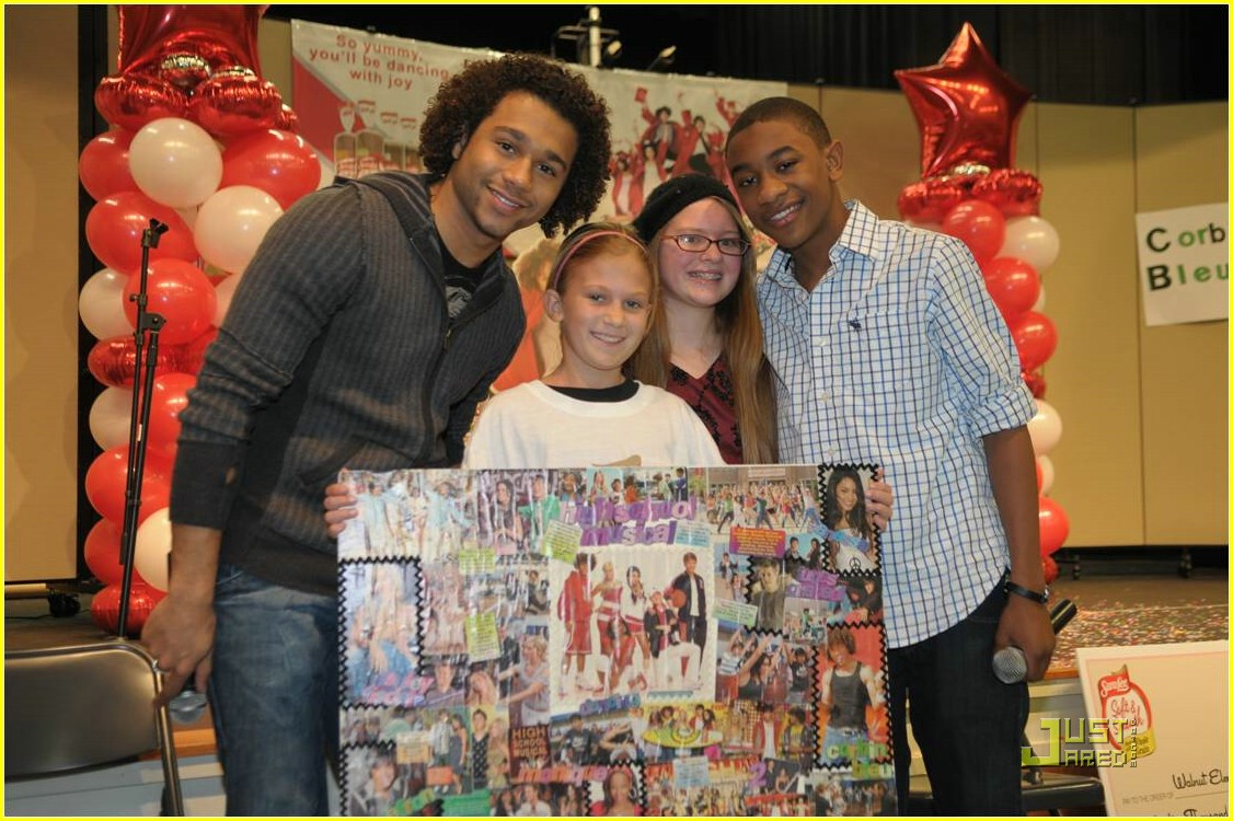 corbin bleu justin martin sara lee contest 01