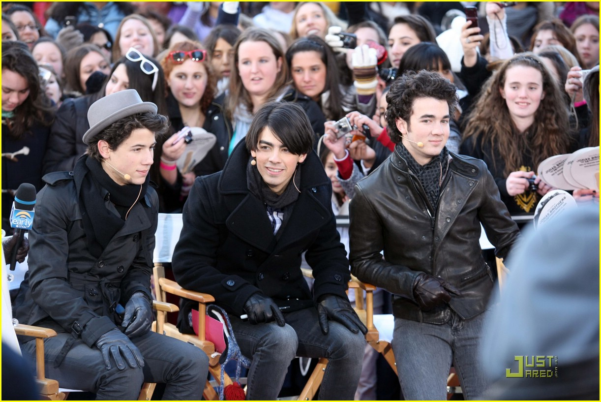 jonas brothers early show 06