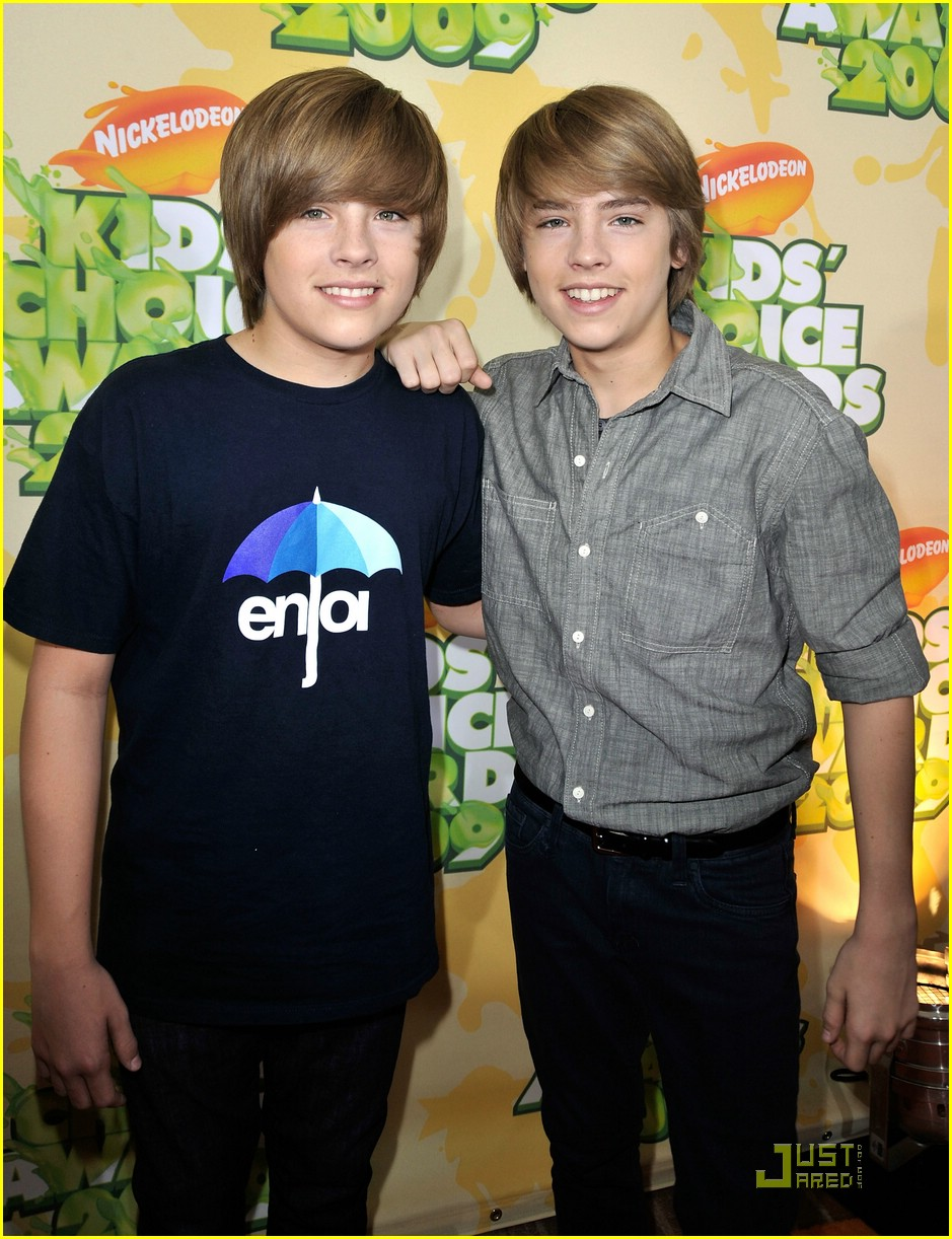 sprouse twins kids choice awards 01
