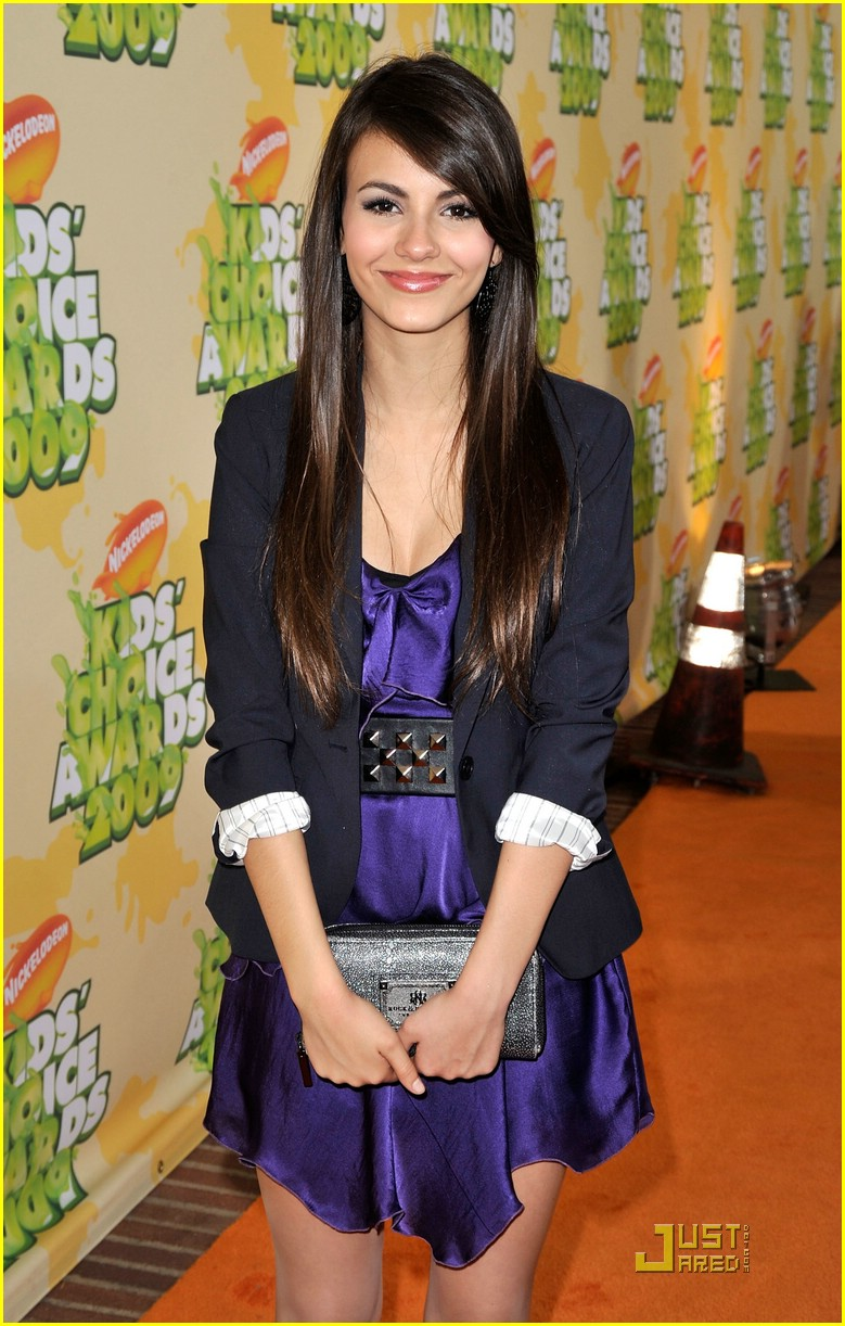 victoria justice kids choice awards 08