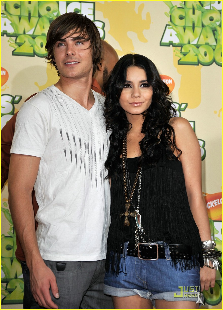 zac efron vanessa hudgens kids choice awards 17
