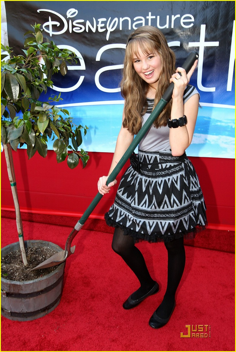 debby ryan earth premiere 01
