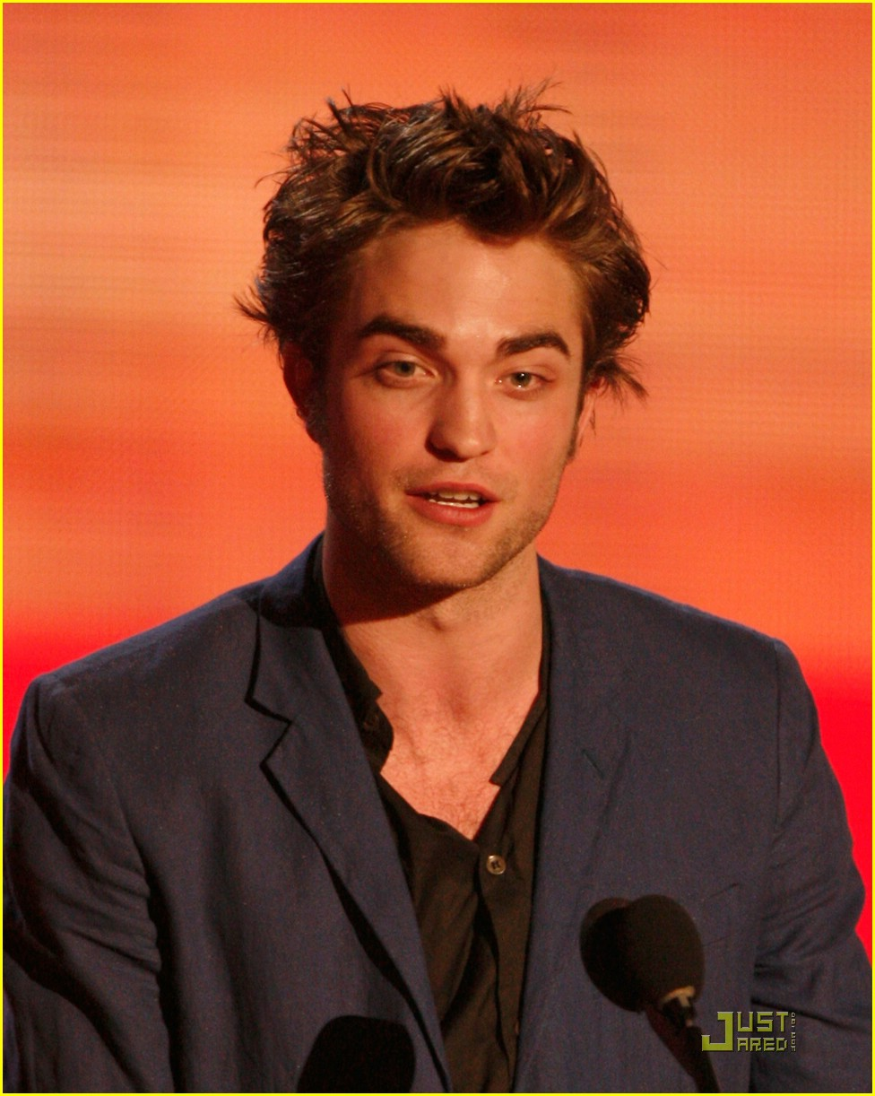 robert pattinson mtv movie awards 08