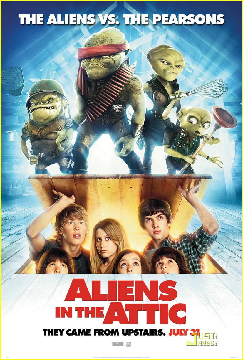 aliens in the attic poster 01