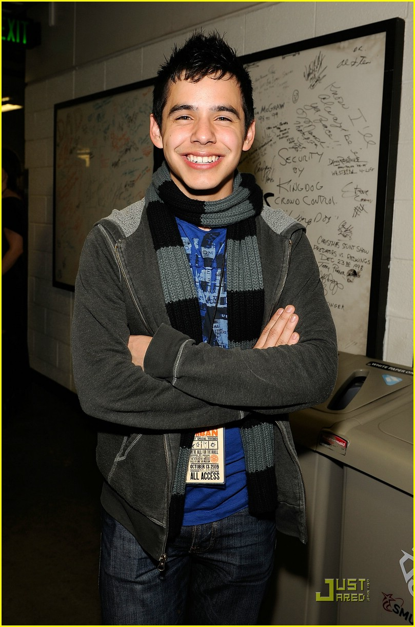 david archuleta all for hall 07