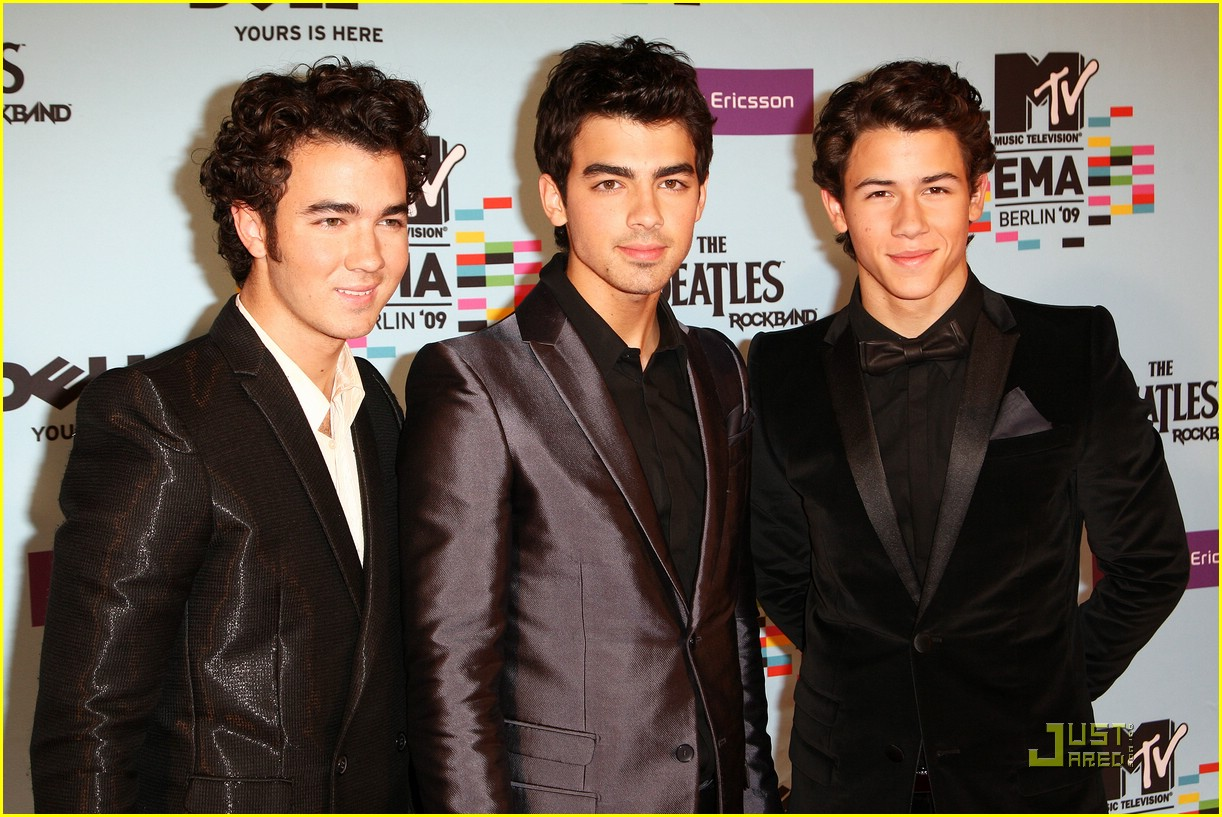 jonas brothers ema awards 09