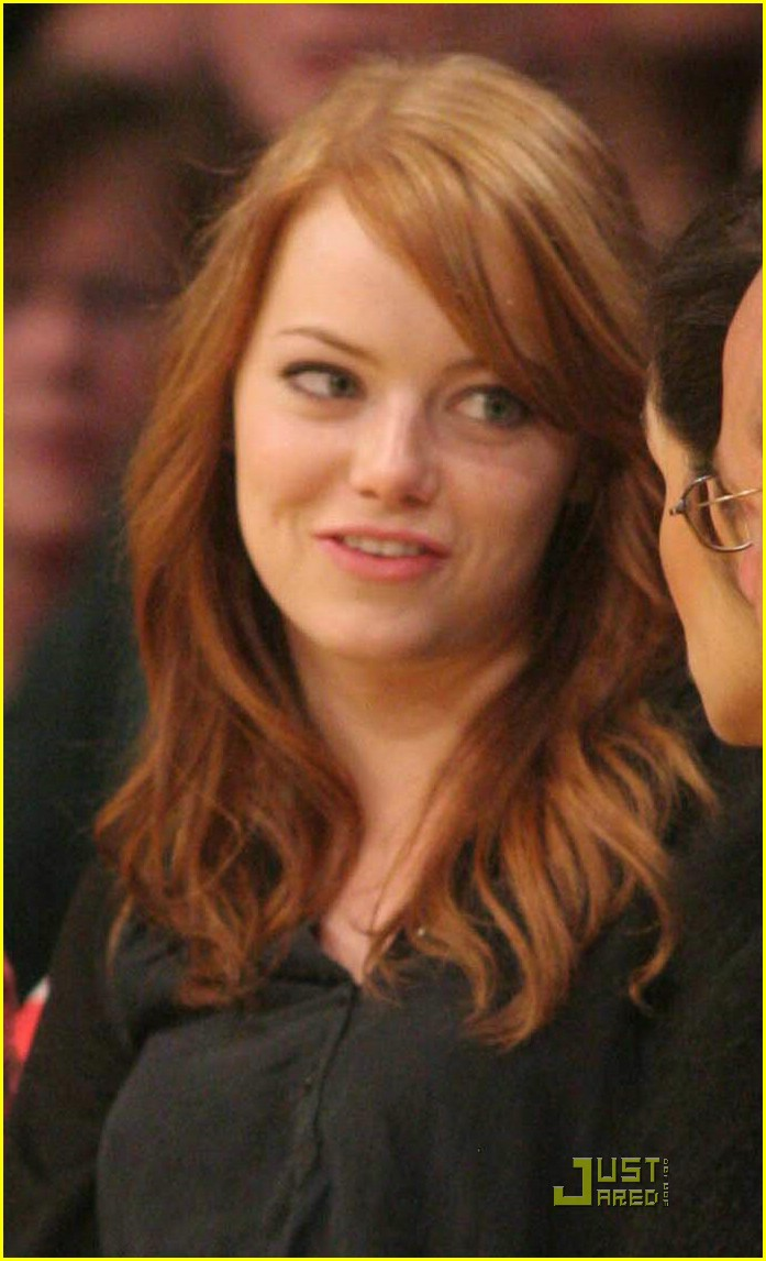 emma stone lakers lady 05