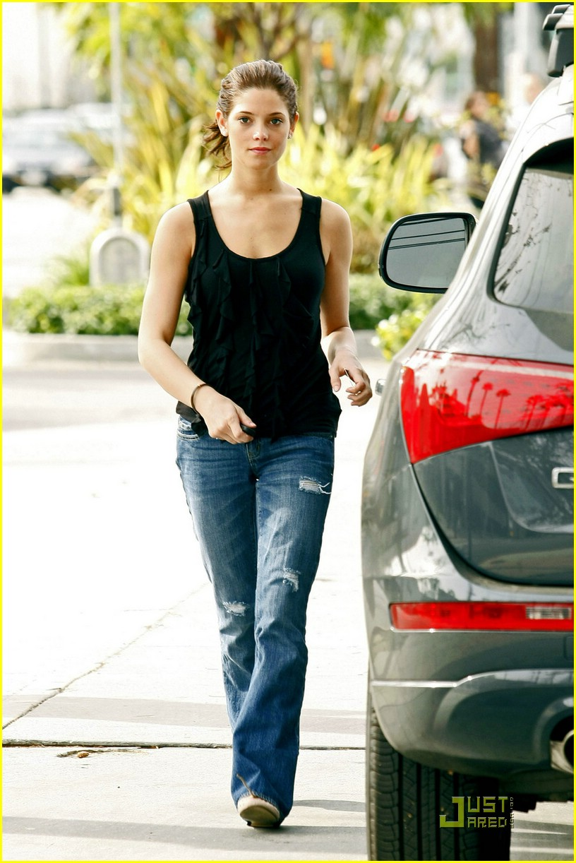 ashley greene wii fit 10