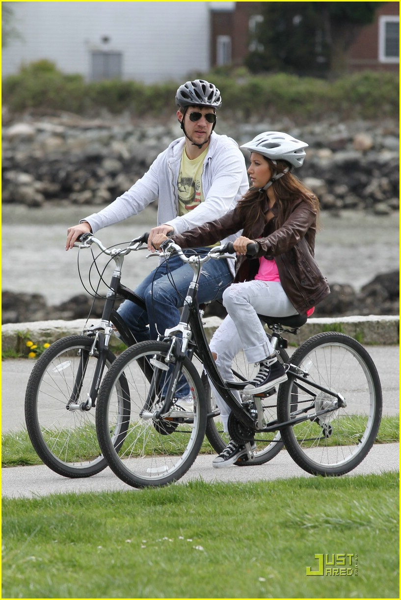 ashley tisdale scott speer biking 12