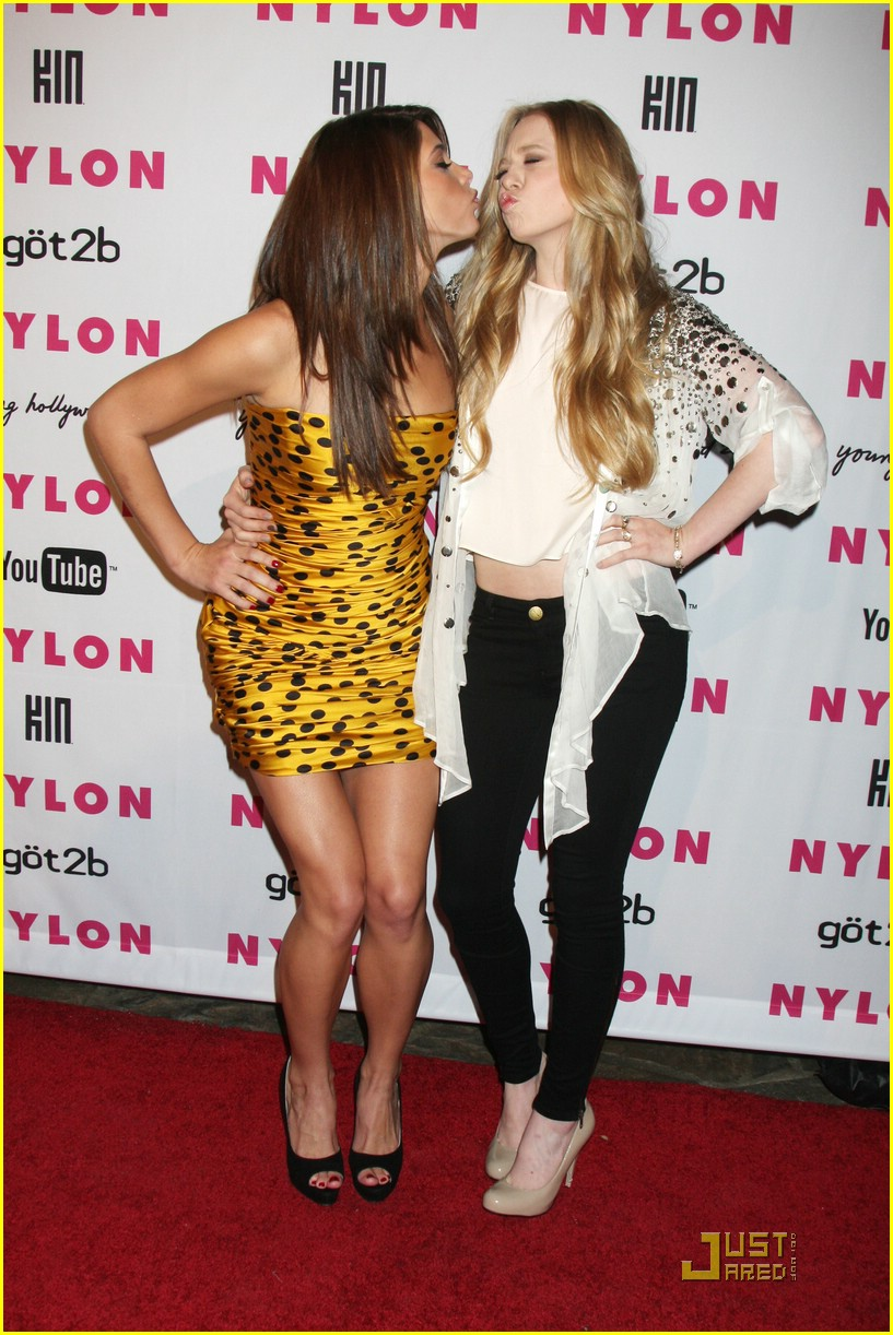 ashley greene nylon party 11