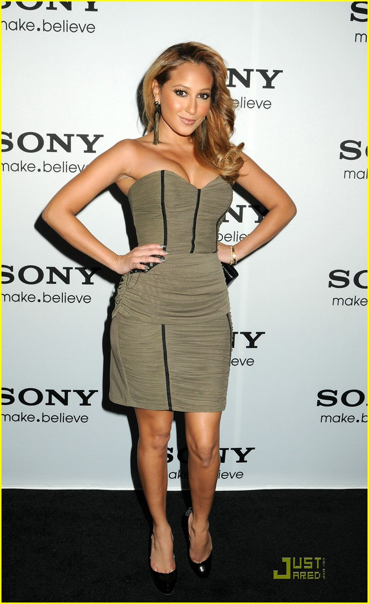 adrienne bailon faceoff lipsy 12