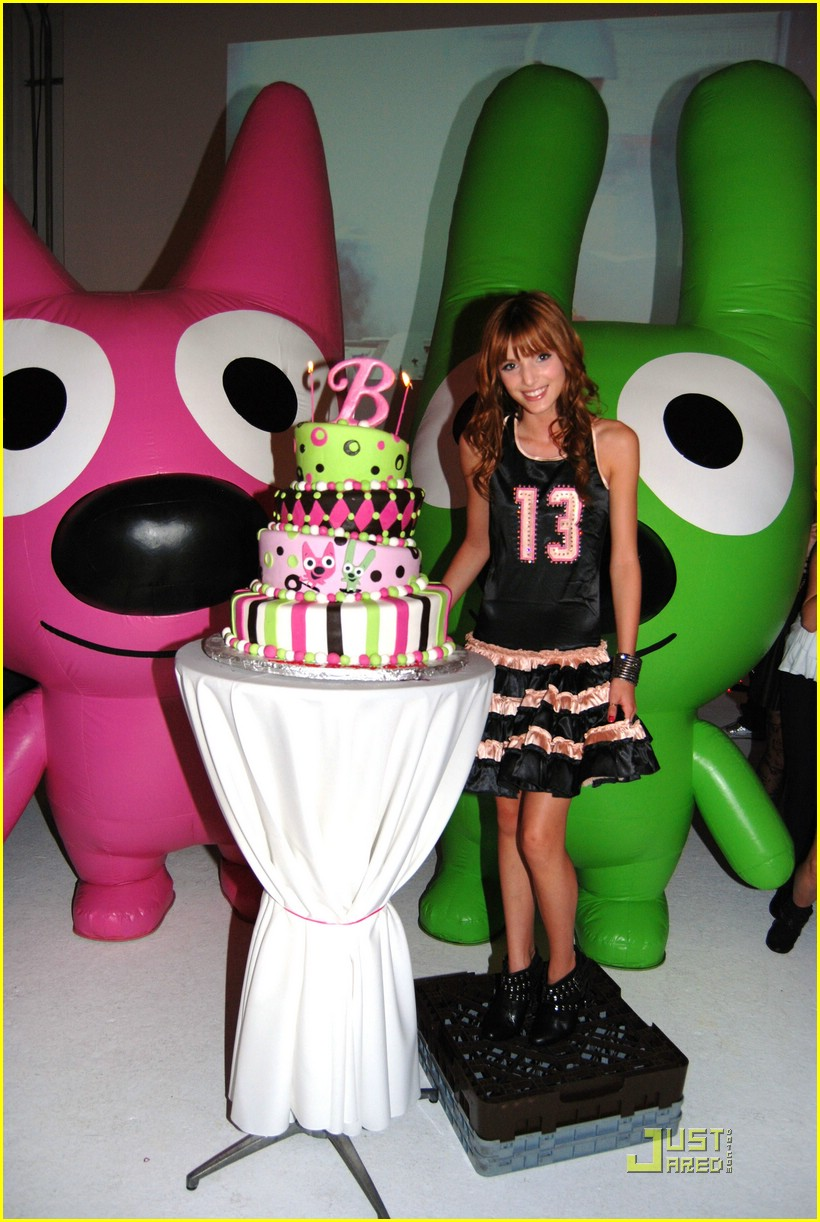 bella thorne bday party 06