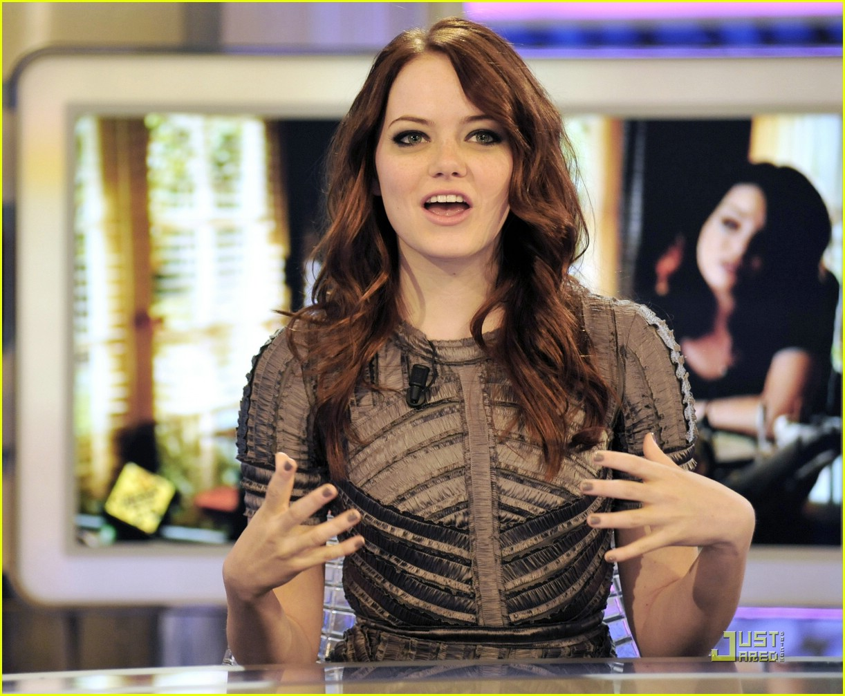 emma stone easy a madrid 20