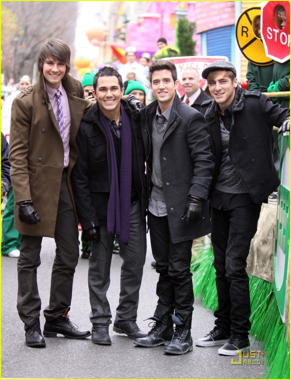 big time rush macys parade 10