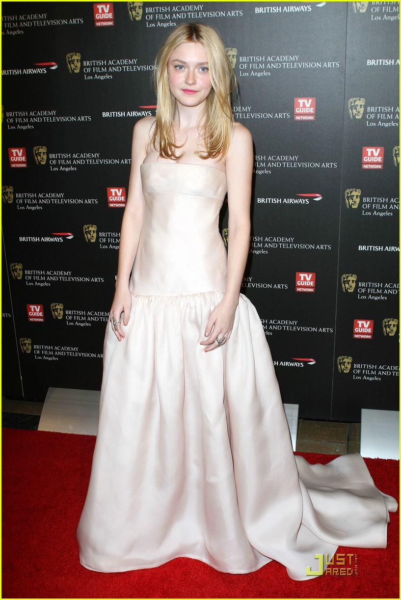 dakota fanning brittania awards 20