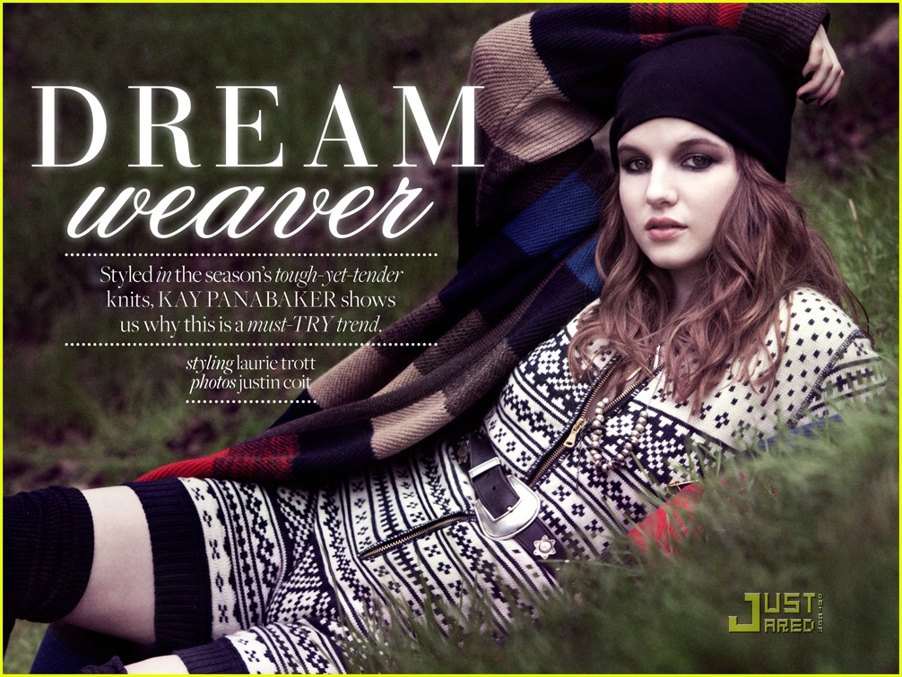 kay panabaker who what wear 04