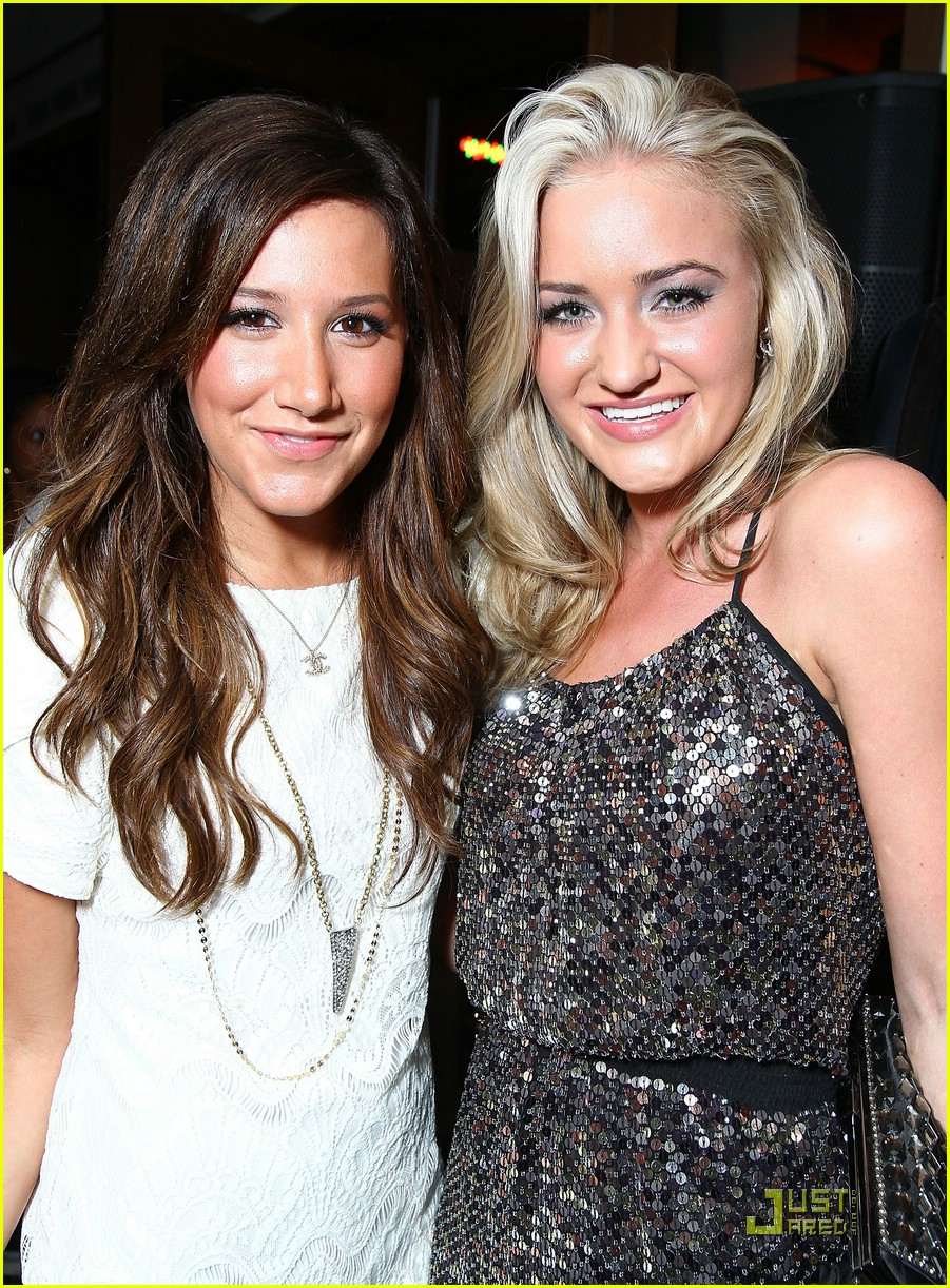 ashley tisdale aj michalka golden globes 14