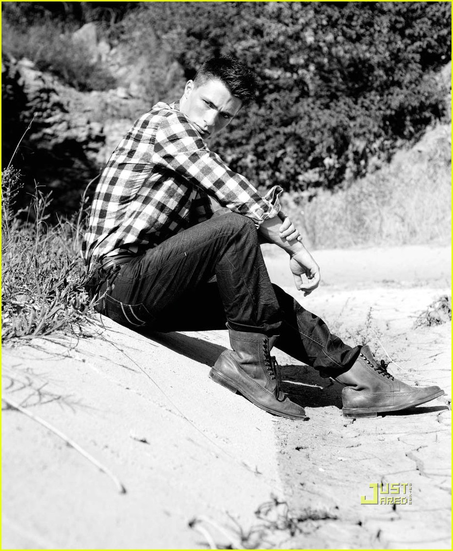 colton haynes august man january 2011 04