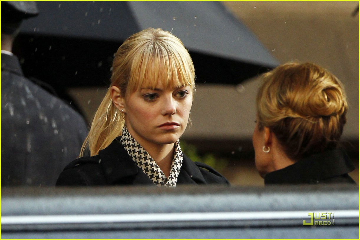 emma stone spiderman scene 07