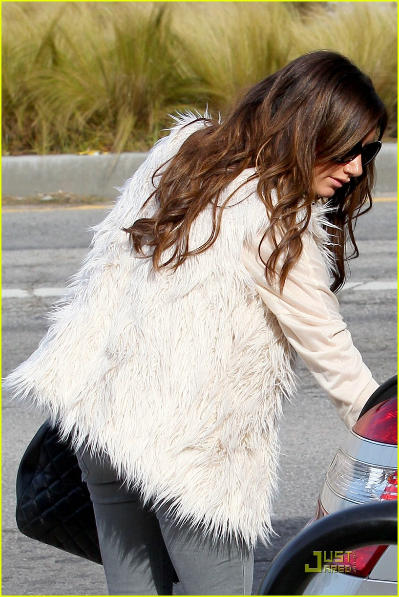 ashley tisdale fuzzy vest 16