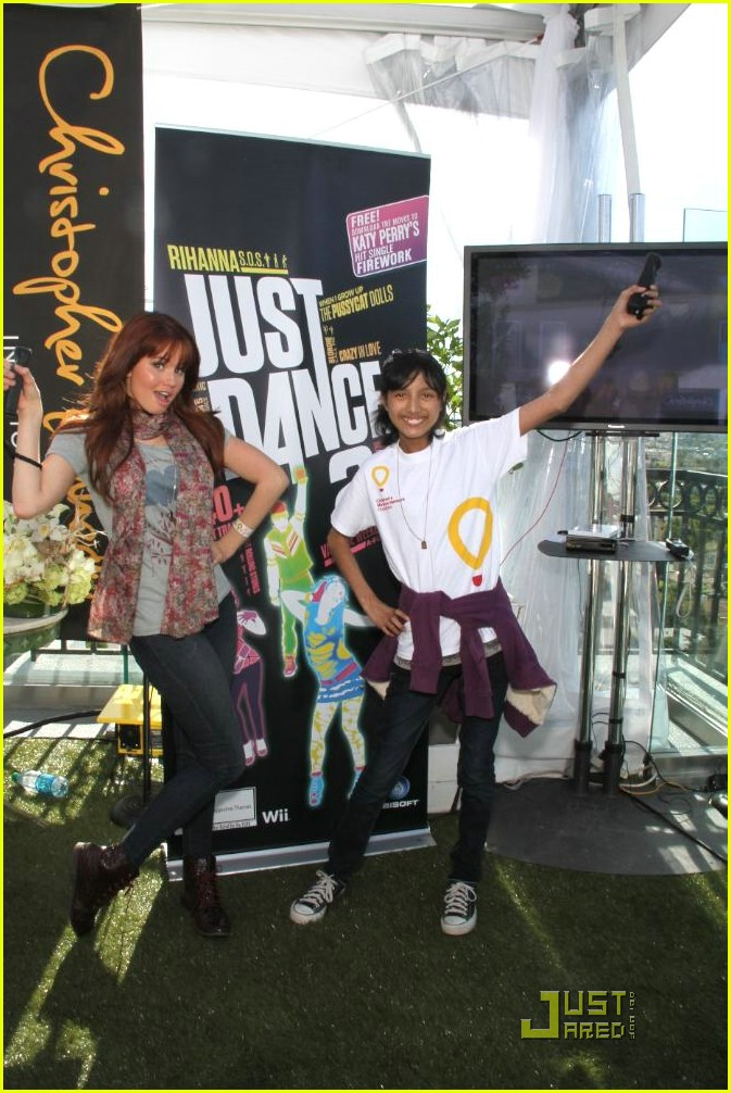 debby ryan cassi thomson gifting suites 11