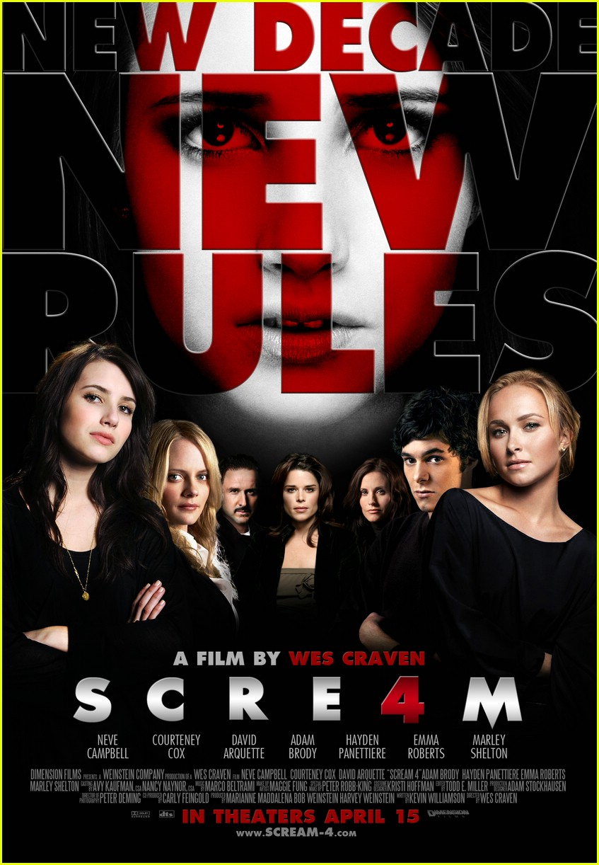 emma roberts fanmade scream posters 01