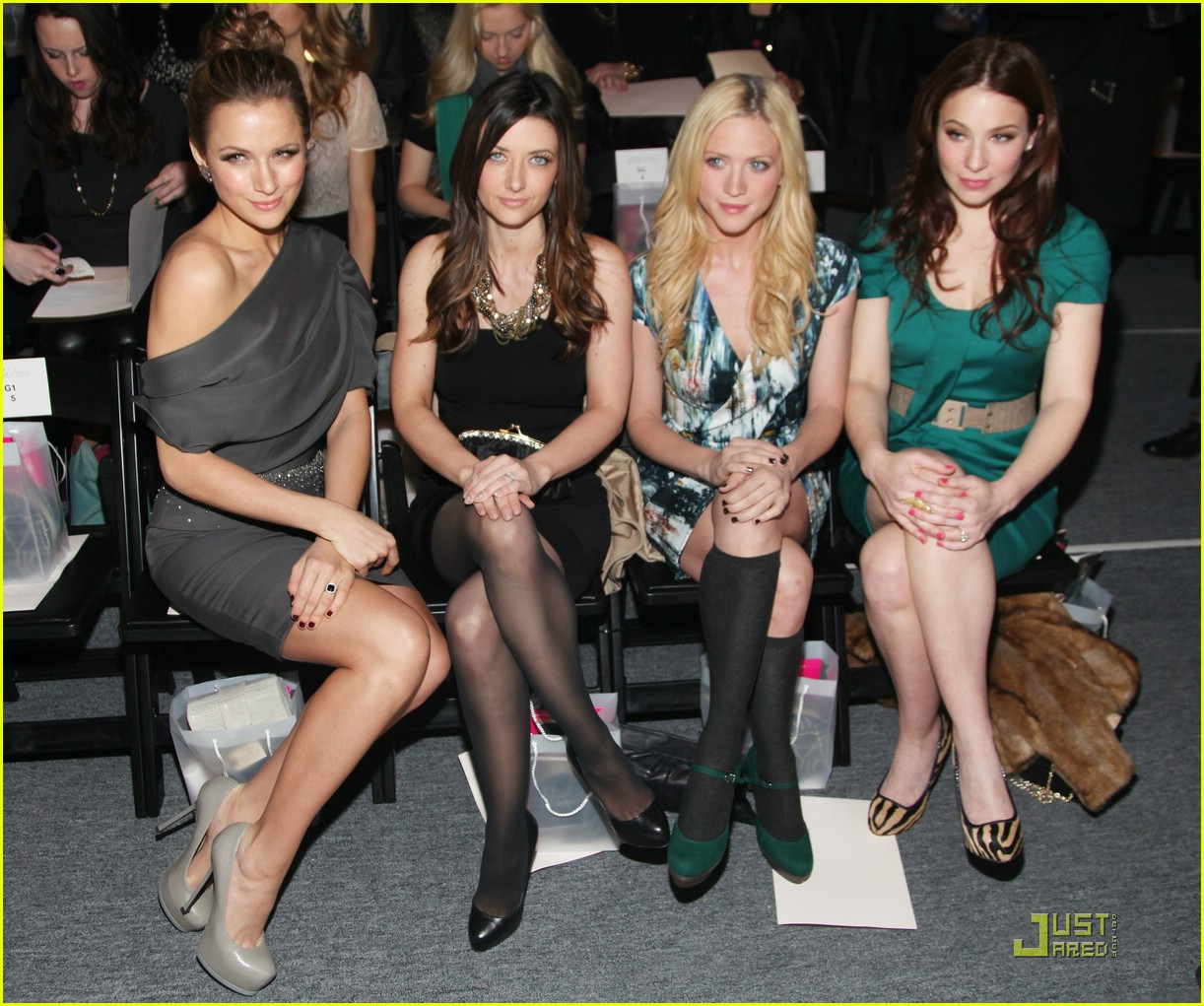 brittany snow nyfw shows 11