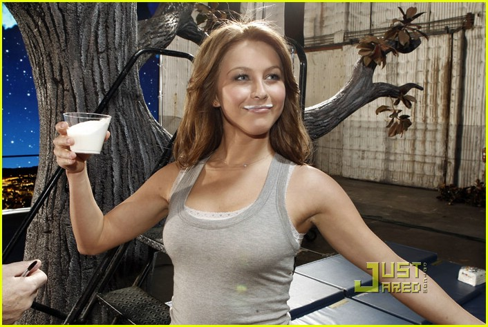 julianne hough got milk ad 12