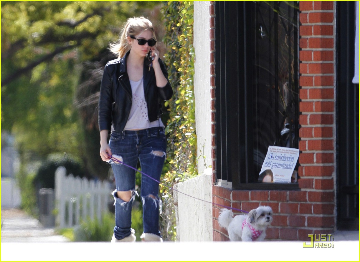 ashley benson walk olive 12