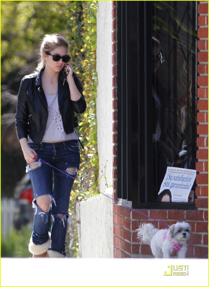 ashley benson walk olive 18