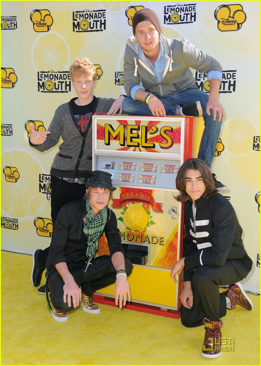 Adam Hicks: Lemonade Mouth is a Dream Come True! | Photo ...