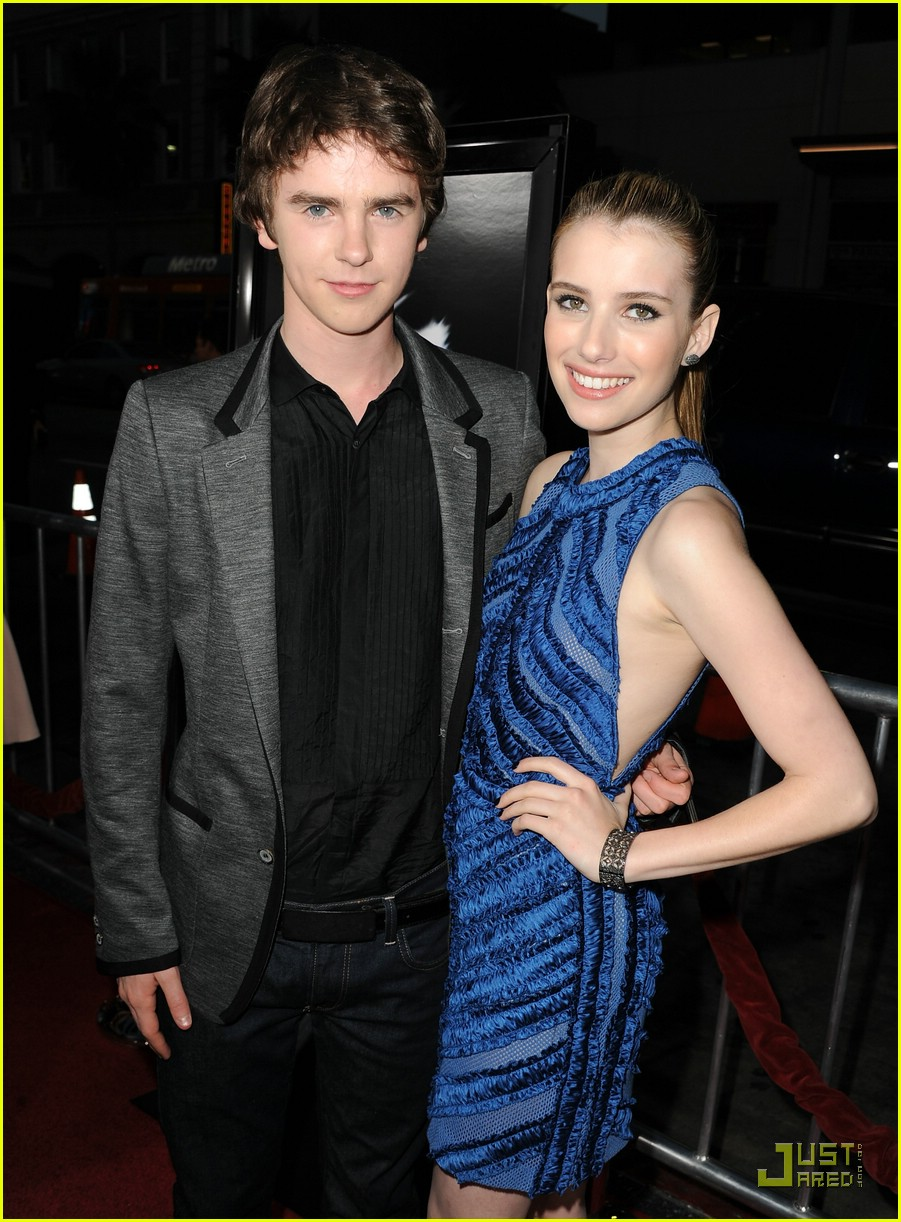 Freddie Highmore And Selena Gomez