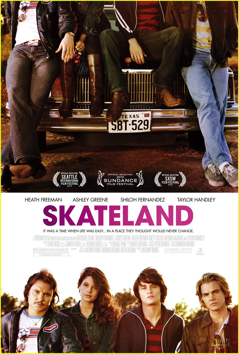 ashley greene skateland poster 01