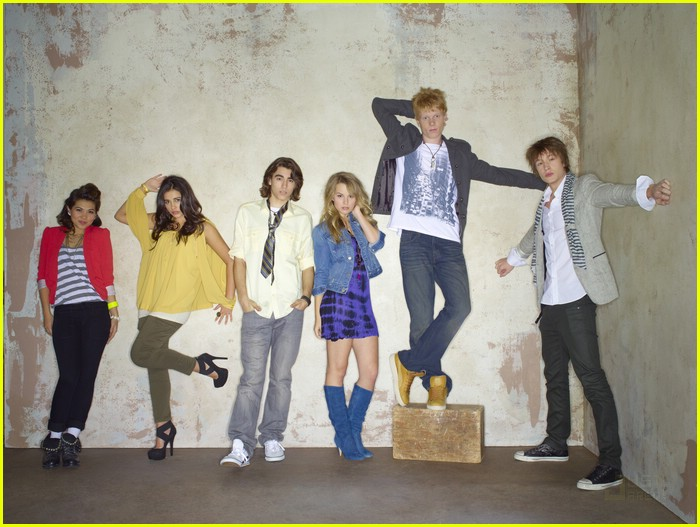 lemonade mouth cast shoot 03