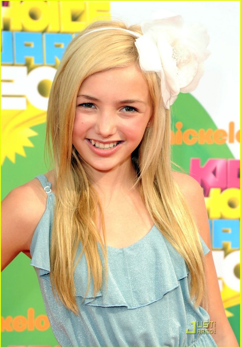 peyton list kids choice awards 06
