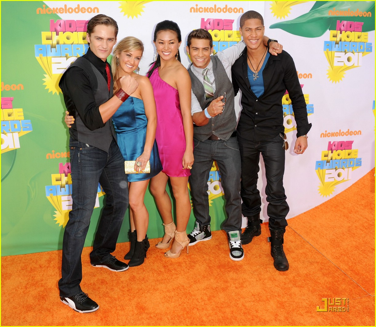 power rangers kids choice awards 08