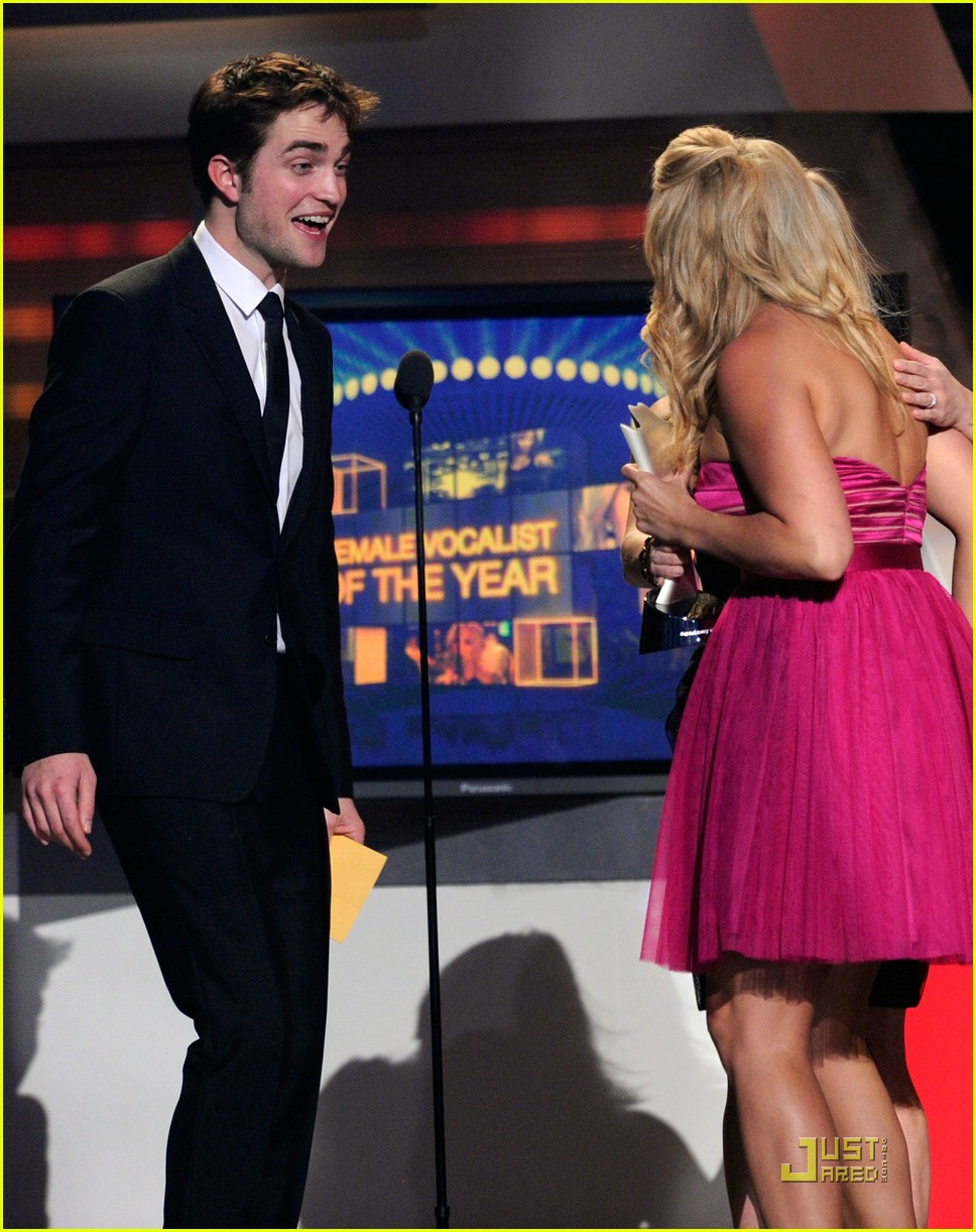 robert pattinson acm awards 09