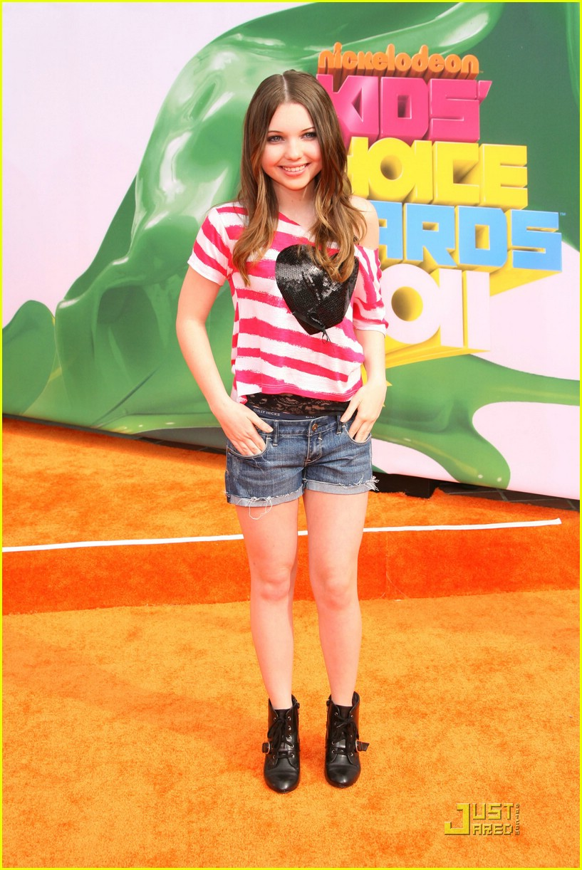 sammi hanratty kids choice awards 07