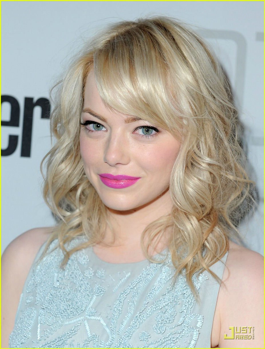 emma stone conde nast party 08