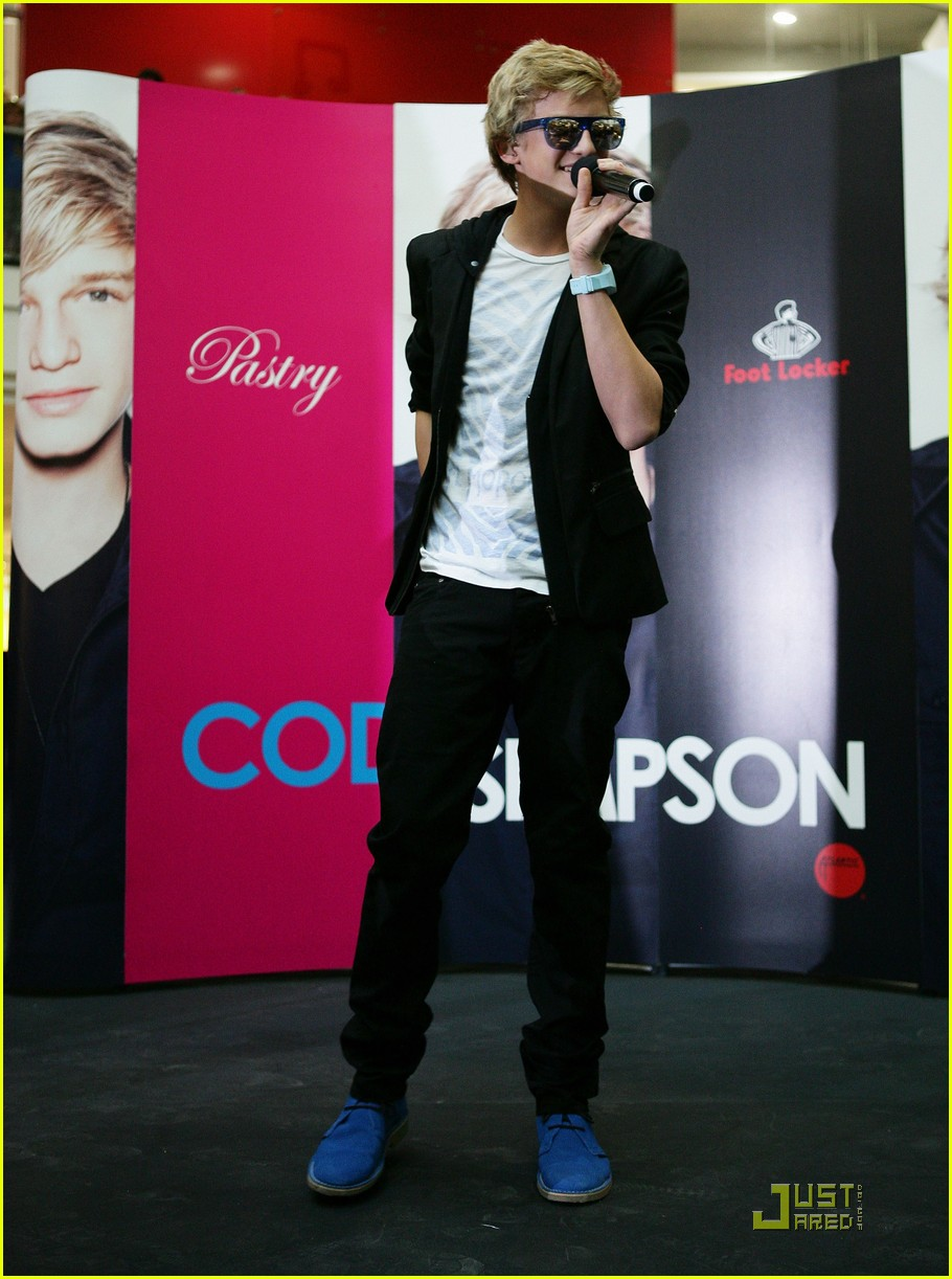 cody simpson sydney singer 10