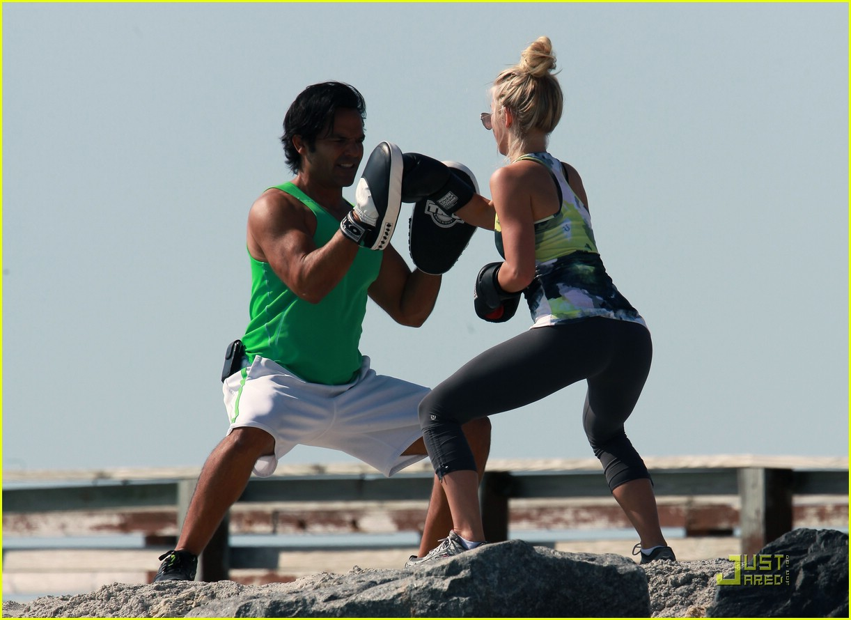 diego boneta julianne hough workout 05
