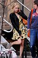 Emma-yellow emma stone yellow dress amazing spider man set 02