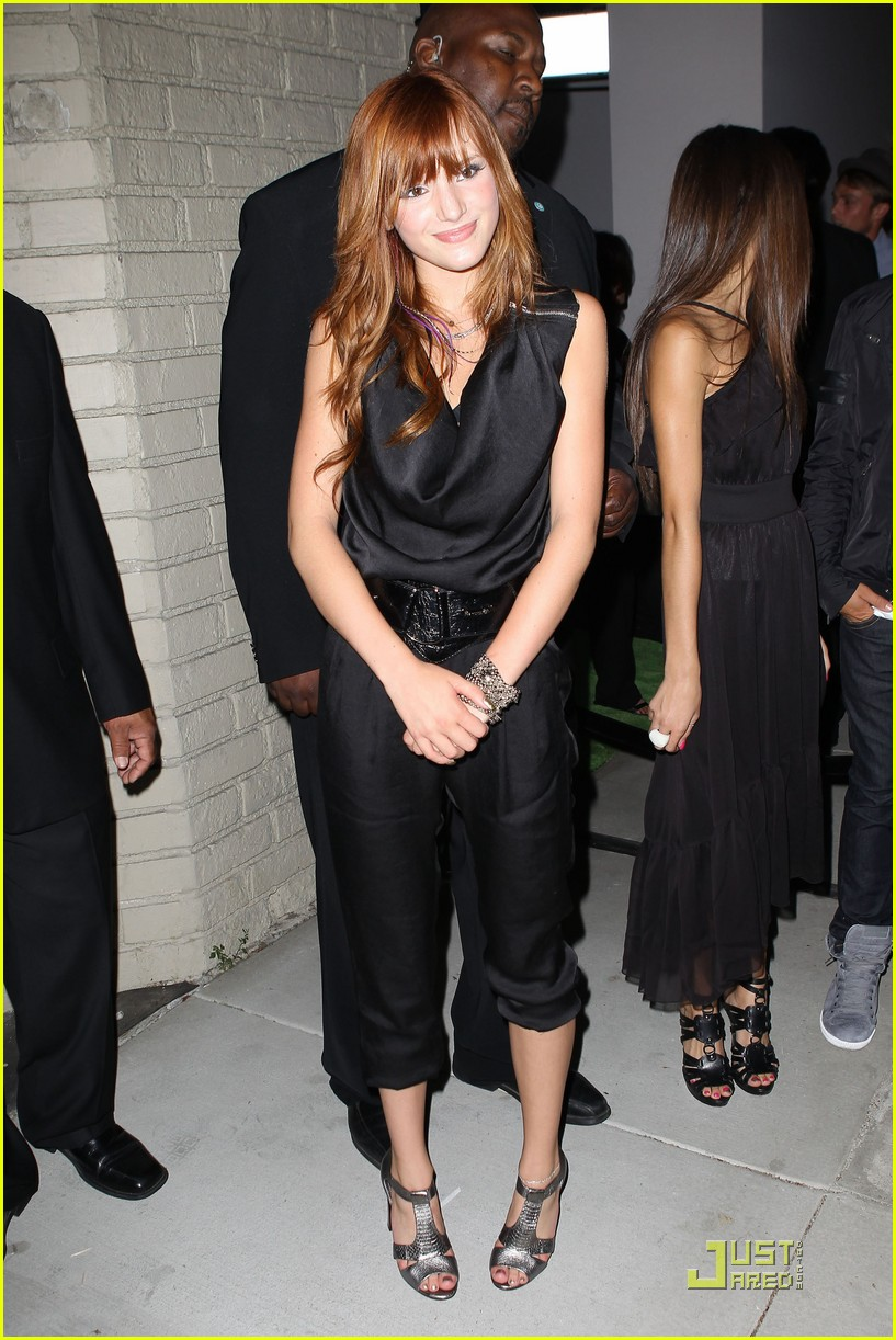 bella thorne htc evo party 13