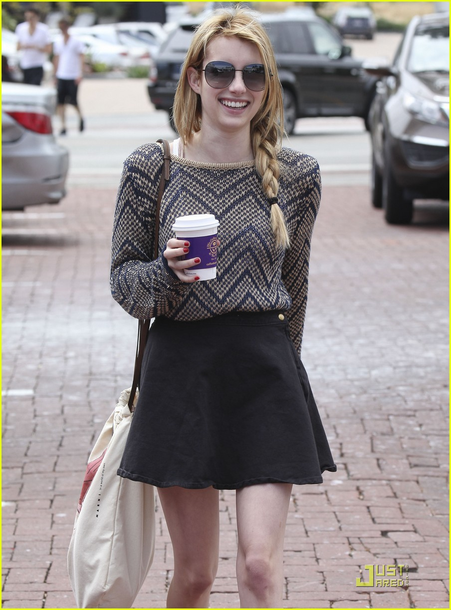 emma roberts coffee bean 01