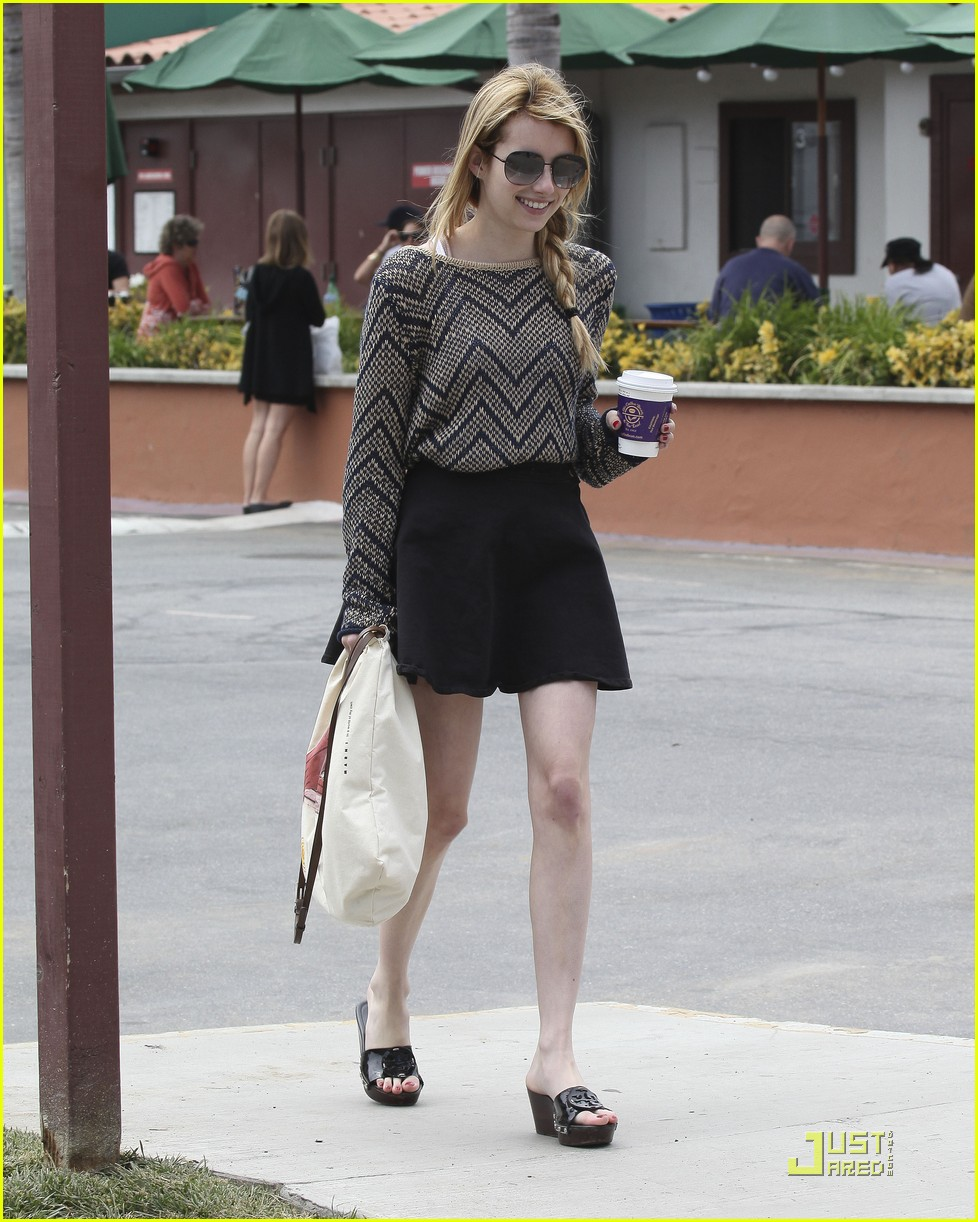 emma roberts coffee bean 15