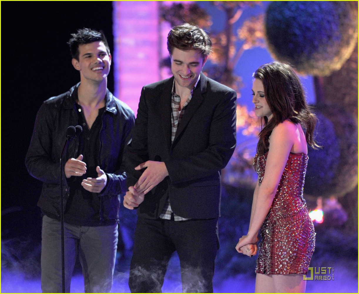 twilight eclipse mtv movie awards 08