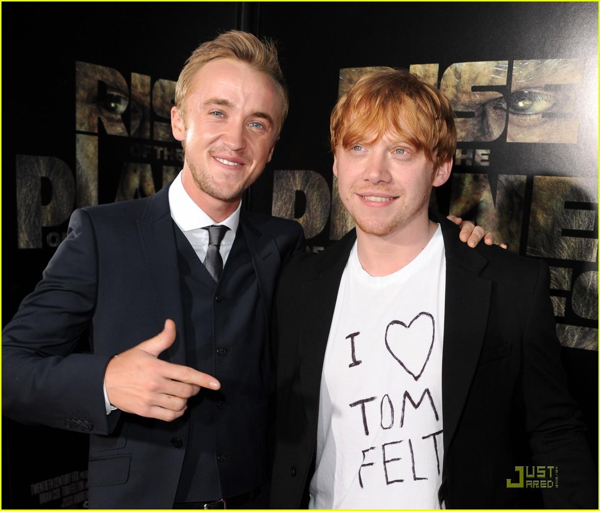 Rupert Grint Loves Tom Felton! | Photo 428580 - Photo ...